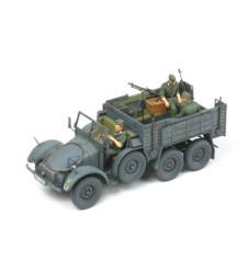 1:35 German 6x4 Truck Krupp Protze - 3 figures