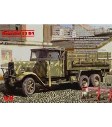 1:35 Henschel 33 D1 WWII German Army Truck