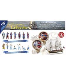 "SET 14 Die-cast Figures for ""Hermione Llafayette"""