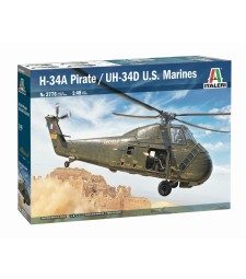 "1:48 H-34A ""Pirate"" / UH-34D Marines"