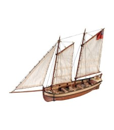 1:50 HMS Endeavour's Longboat - Wooden Model Ship Kit