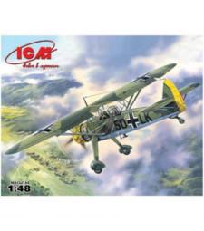1:48 Hs 126A-1 WWII German Reconnaissance Plane