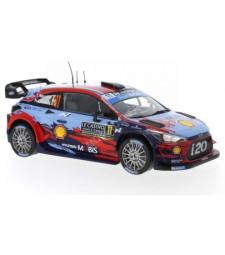 Hyundai i20 WRC, No.11, Rallye WM, Rally Monte Carlo  T.Neuville/N.Gilsoul