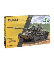 1:35 M60 A3 Medium Battle Tank