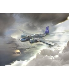 1:48 A-26В Invader Pacific War Theater, WWII American Bomber