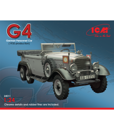 1:24 Typ G4 (1935 production), German Personnel Car