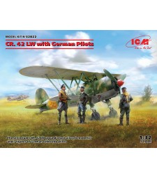 1:32 CR. 42 LW with German Pilots