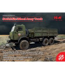 1:35 Soviet Six-Wheel Army Truck