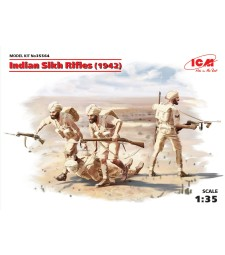 1:35 Indian Sikh Rifles (1942) (4 figures)
