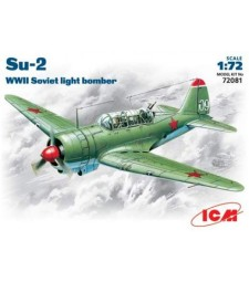 1:72 Su-2 WWII Soviet Light Bomber