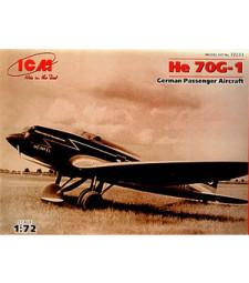 1:72 He 70G-1, German Passenger Aircraft