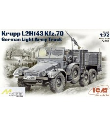 1:72 Krupp L2H143 Kfz.70 German Light Army Truck