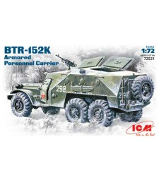 1:72 BTR-152K, Armoured Personnel Carrier