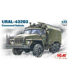 1:72 URAL-43203 Command Vehicle