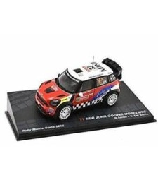MINI JOHN COOPER WORKS WRC D. Sordo - C. Del Barrio Rally Monte-Carlo 2012 - Passione Rally Collection