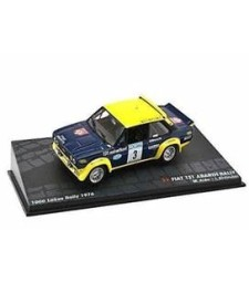 FIAT 131 ABARTH RALLY M. Alen - I. Kivimaki 1000 Lakes Rally 1976 - Passione Rally Collection