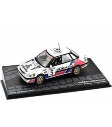 SUBARU LEGACY RS M.Alen - I.Kivimaki Rally Sweden 1991 - Passione Rally Collection