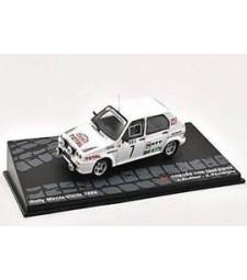 CITROEN VISA 1000 PISTES J. Andruet - A. Peuvergne Rally Monte-Carlo 1985 - Passione Rally Collection