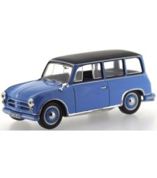 AWZ P70 Kombi 1957 Blue and Black roof