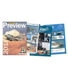 2018 Italeri Caltaogue Index + 2018 Preview