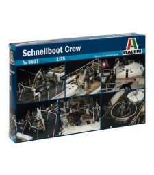1:35 SCHNELLBOOT CREW - 1 figures