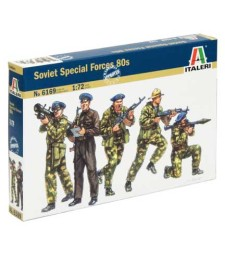 1:72 SOVIET SPECIAL FORCES 80s - 50 figures