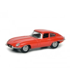 Jaguar E-Type Coupé, red