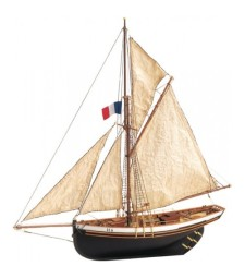 1:50 Jolie Brise - Wooden Model Ship Kit