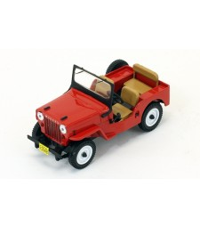 WILLYS JEEP CJ3B 1953 Red