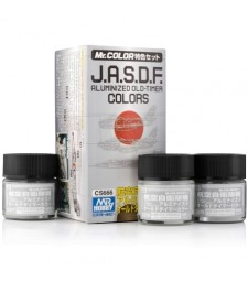 CS-666 J.A.S.D.F. Aluminized Old-Timer Color Set (3 x 10ml)