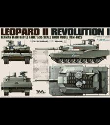 1:35 German Main Battle Tank Leopard II Revolution I