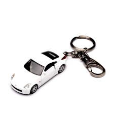 NISSAN FAIRLADY Z COUPE KEYCHAIN - WHITE