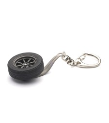 8-SPOKES WHEEL KEYCHAIN