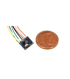 LokPilot Fx Nano, Function decoder MM/DCC, 8-pin wires interface
