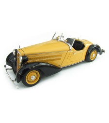 Audi 225 Front Roadster 1935 (black/yellow)