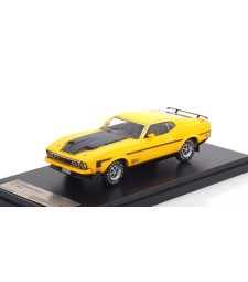 Ford Mustang Mach 1, 1973 - Yellow & Black