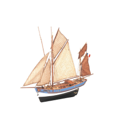 1:50 Marie-Jeanne - Wooden Model Ship Kit