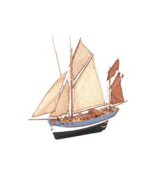 1:50 Marie-Jeanne - Wooden Model Ship Kit