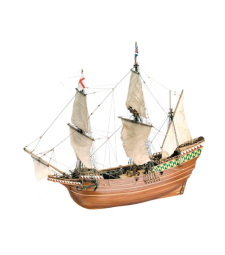 1:64 Mayflower Piligrim Ship - Wooden Model Ship Kit