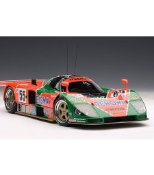 MAZDA 787B L.M. WINNER 1991 WEIDLER - HERBERT - GACHOT #55 20TH ANNIV. ED. (WITH DISPLAY INCLUDED) (L. E. 2.000 PCS WORLDWIDE)