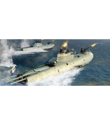 1:35 Soviet Navy G-5 Class Motor Torpedo Boat - Model Kit