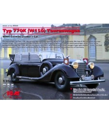 1:35 Mercedes-Benz Typ 770K (W150) Tourenwagen WWII German Leader's Car