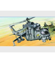 1:35 Helicopter - Mil Mi-24V Hind-E