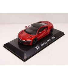 2016 HONDA NSX, red