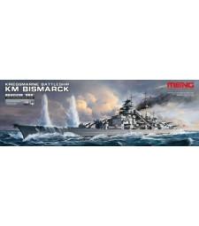 1:700 German Battleship Bismarck