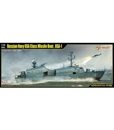 1:72 Russian Navy OSA Class Missile Boat , OSA-1 - Model Kit