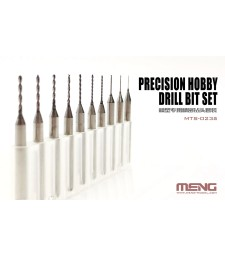 MTS-023a DSPIAE Precision hobby drill bit set (0.4-1.3mm) 10 pieces