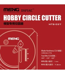 Hobby Circlе Cutter  (1 mm to 55 mm diameter)