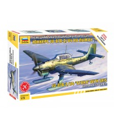 1:72 JU-87 STUKA W/SKI - Snap-fit