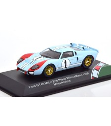 Le Mans Ford GT40 MK 2 No.1, The Real Winner 24h Le Mans Miles/Hulme 1966 scale 1:43 from the movie Le Mans 66